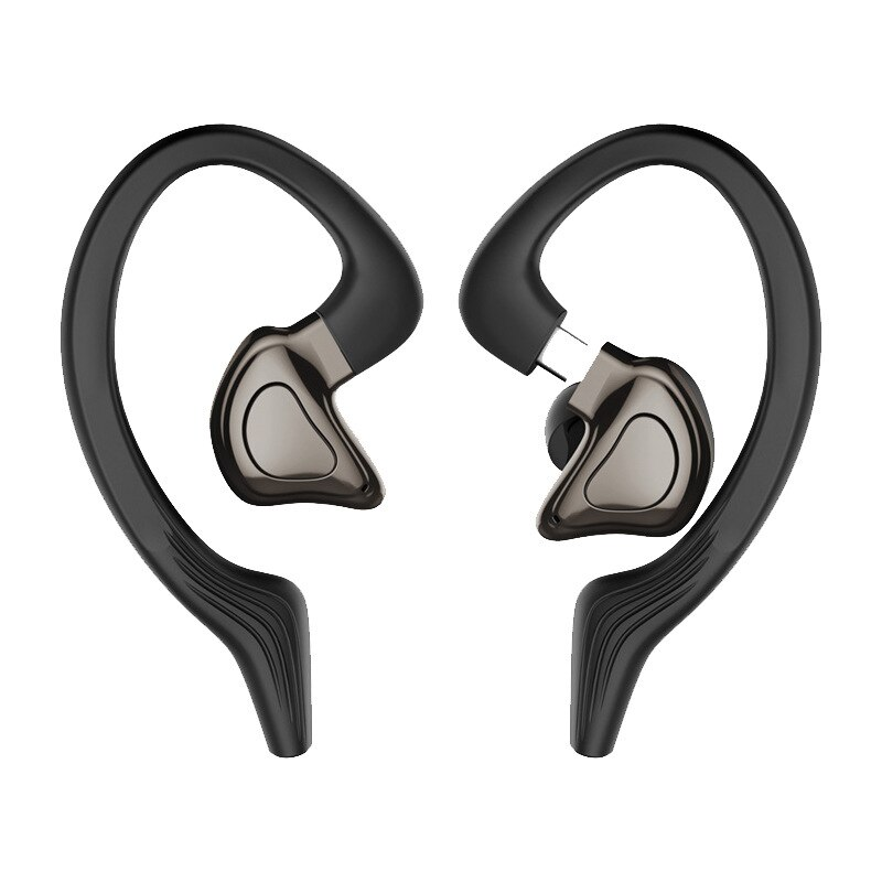 Bluetooth Earphones With Microphones Sport Ear Hook LED Display Wireless Headphones HiFi Stereo Earbuds Waterproof Headsets enlarge