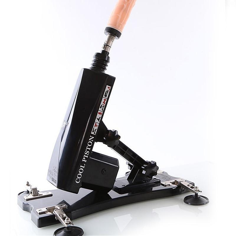 Máquina automática para adultos BFACCIA con máquina de ventosa para mujer con herramienta de empuje ajustable multivelocidad con dilatador Anal