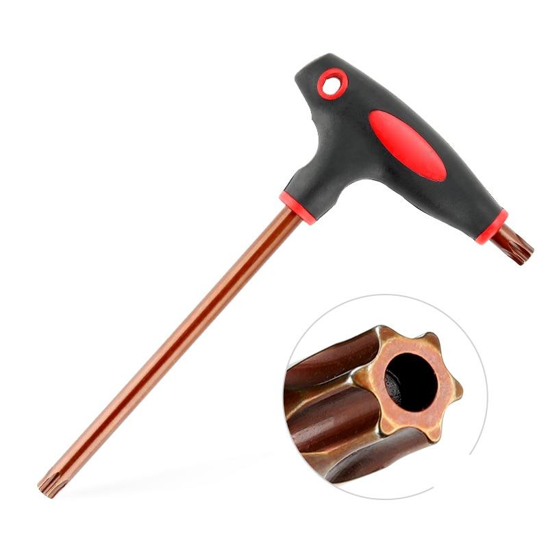 Tamper Proof-llave Allen tipo L de dos vías, llave inglesa, destornillador, herramientas...