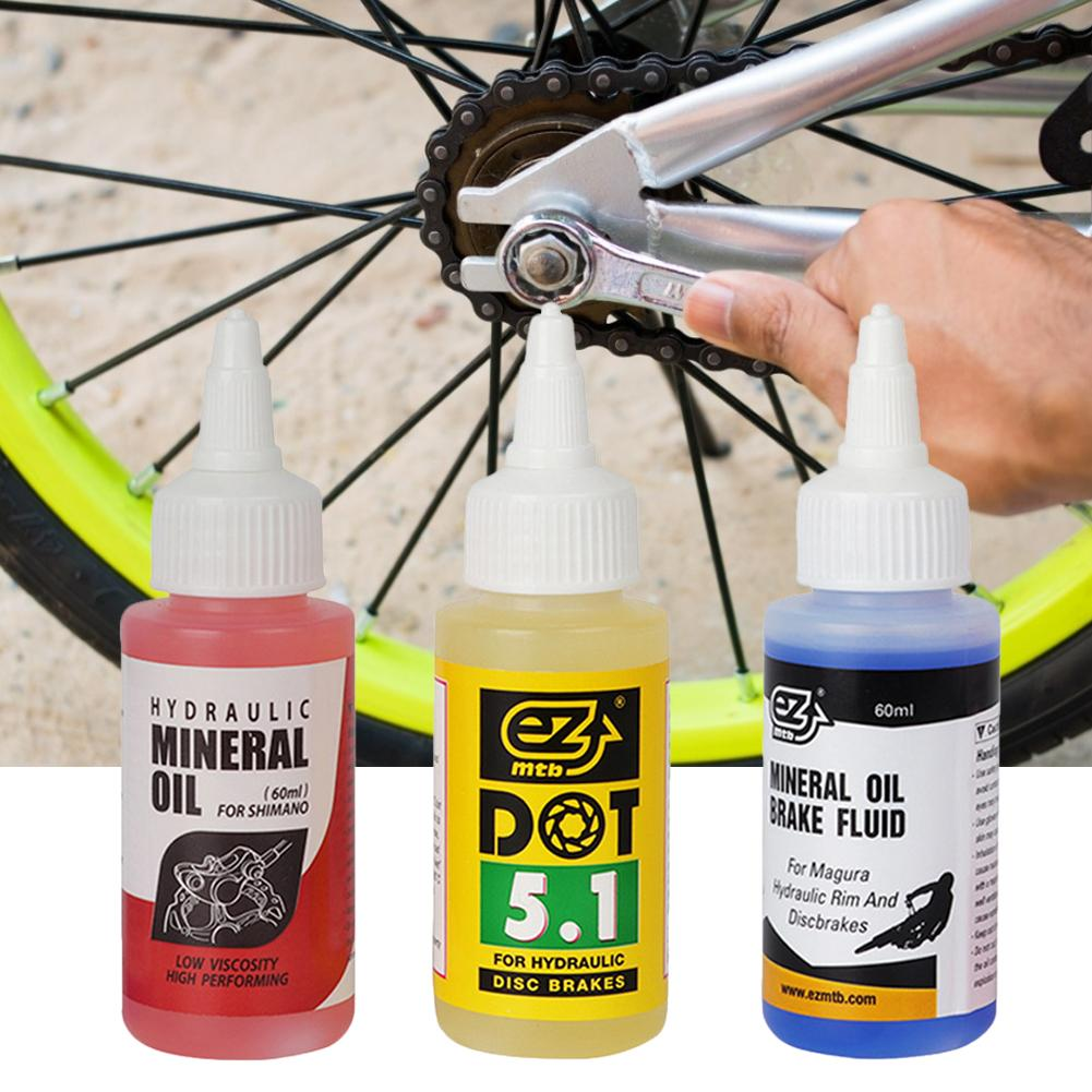Bicycle Brake Mineral Oil System 60ml Fluid Cycling Mountain Bikes Bicycle Brake Oil Fluid Hydraulic Disc Bicycle Brake Oil