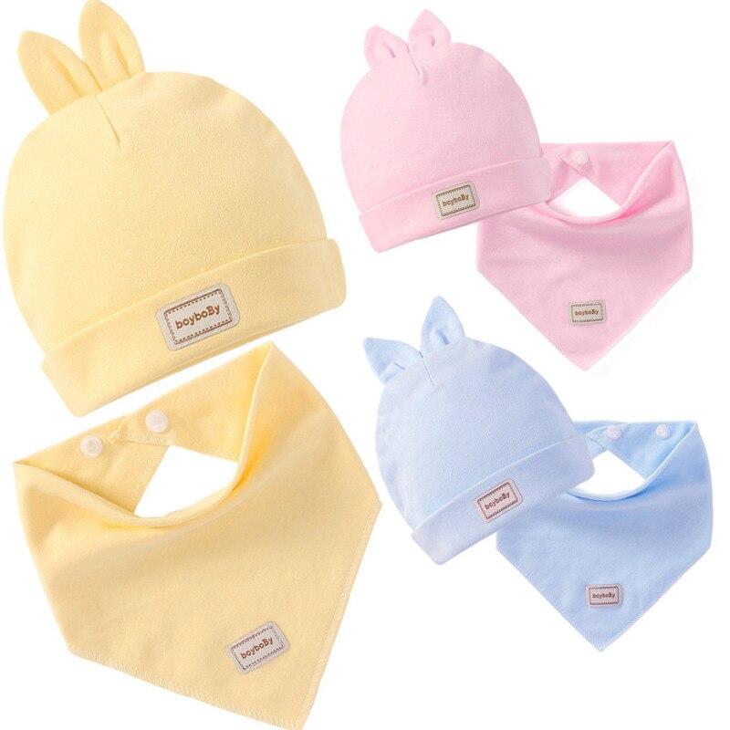 Весенне-осенняя хлопковая детская шапка для новорожденных с рисунком Мишки и Тедди, Кепка с рисунком из мультфильма, хлопковые шапки для но...
