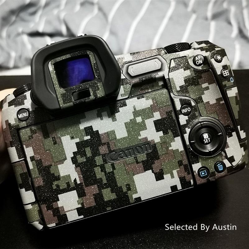Pegatina de piel para Canon EOS R EOS RP Cámara, pegatina de piel, Protector de camuflaje, funda envolvente Anti-rayado