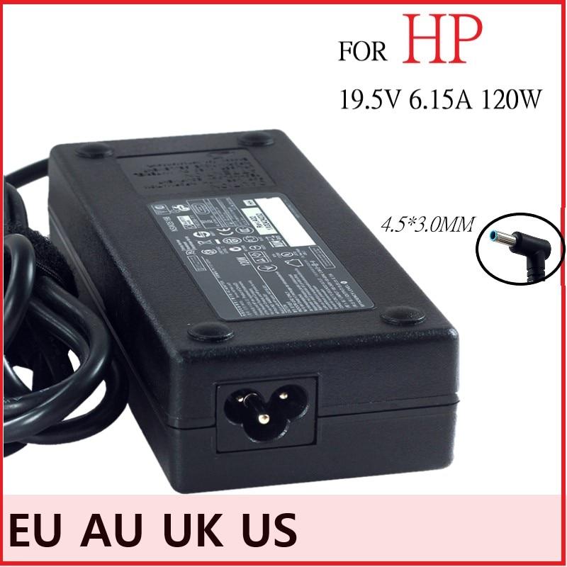 امدادات الطاقة شاحن محول لابتوب HP الحسد 15 جناح توش sleekbook 15-J013TX J015TX HSTNN-CA25 19.5V 6.15A 120W