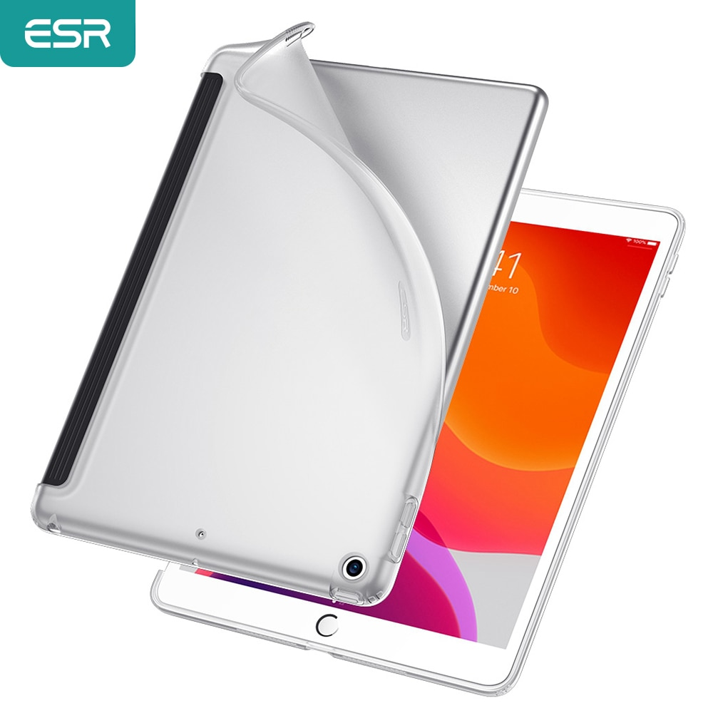 for ipad keyboard portable smart flip bluetooth 3 0 keyboard stand case cover for ipad 9 7 2018 9 7 2017 air2 air1 pro9 7 ESR Rebound Soft Shell for iPad 7 2019 Clear TPU Back Cover Case Fits with Smart Keyboard & Smart Cover for iPad 7th Gen 10.2