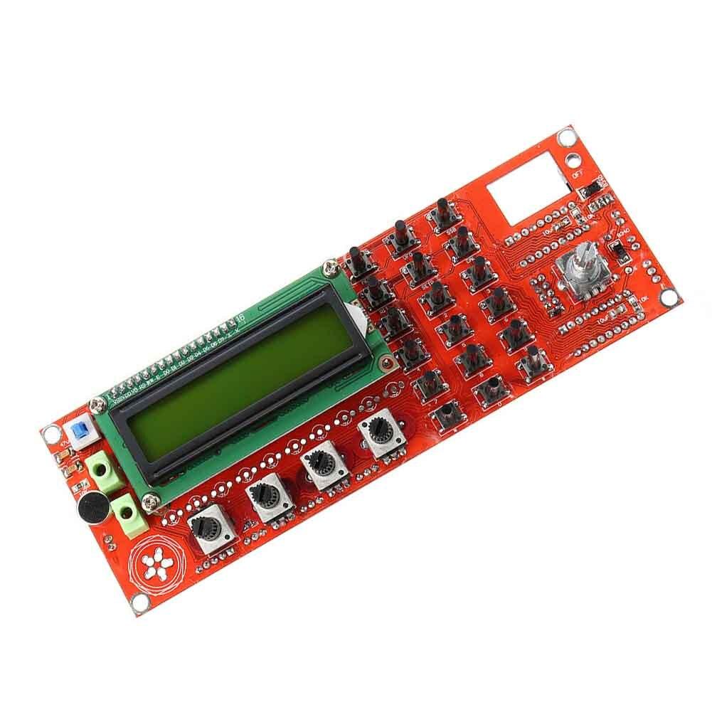 Ad9850 0-55mhz acessórios peças diy S-LED placa de exibição ssb6.1 transceptor dds gerador de sinal vfo ssb módulo de ondas curtas