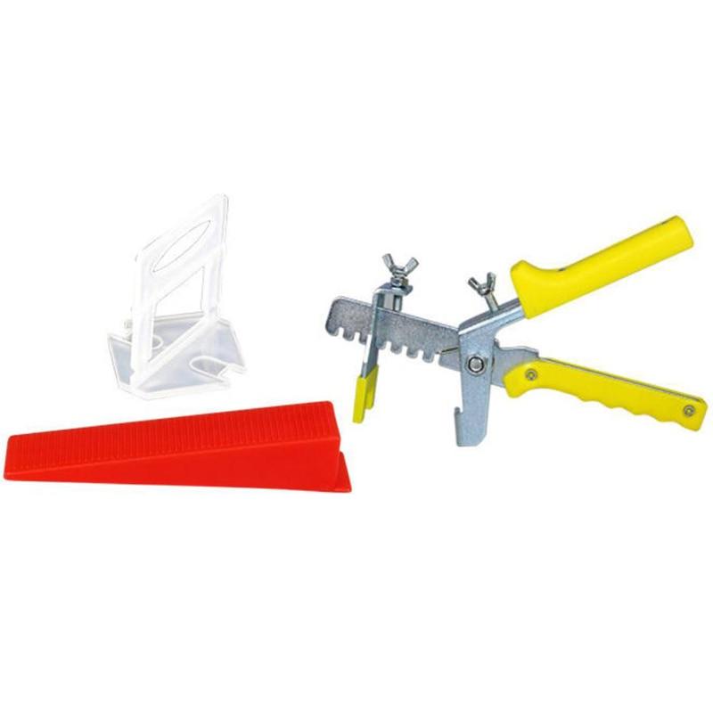 401 fliesen Nivellierung System 3 mm 300 Schellen + 100 Keile + 1 paar Zange Kunststoff Pflaster Werkzeug Fliesen spacer