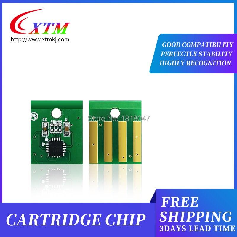 10 Uds 10K 60F5H00 605H chip de restablecimiento de Tóner para Lexmark MX310 MX410 MX510 MX511 MX611 recarga impresora láser