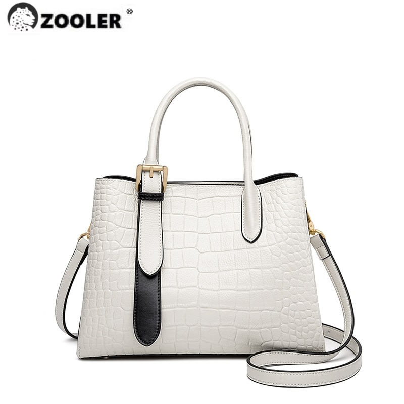ZOOLER Brand Designer genuine leather Woman Handbags Tote Bags Totally Skin Shape Bags Large Soft Co