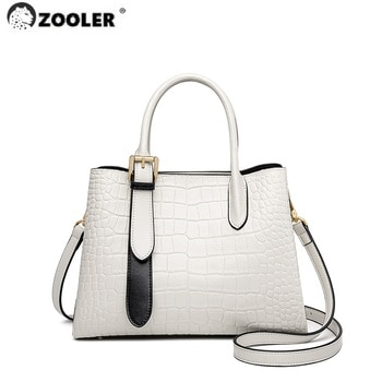 ZOOLER Brand Designer genuine leather Woman Handbags Tote Bags Totally Skin Shape Bags Large Soft Cow Leather large bolsos QS263
