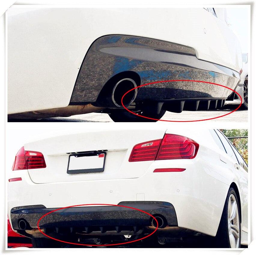 car Rear Lip air Diffuser Fin for Mercedes Benz GLS63 GLS GLE43 B55 Shooting S400 ML450 GLA CLK  W202 CLA W212