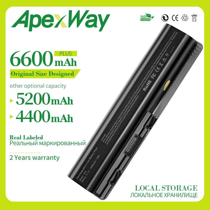 Apexway batería de ordenador portátil para hp compaq presario CQ61 CQ41 CQ45...