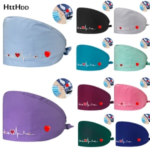 Adjustable Hospital Stomatologist Uniform Accessories Women Surgical Caps Clinical Female Nurse Medical Hats High Quality Health