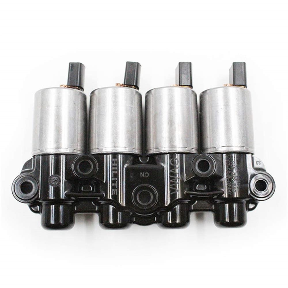 Paquete de solenoides de control de aceite de transmisión OEM DSG 0AM DQ200 para Audi para v-w para Skoda ForSeat para Passat 7 FWD