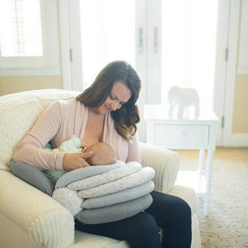 Подушки для кормления младенцев Hipac, подушка для грудного вскармливания для новорожденных, хлопковая Подушка для кормления младенцев, поду...