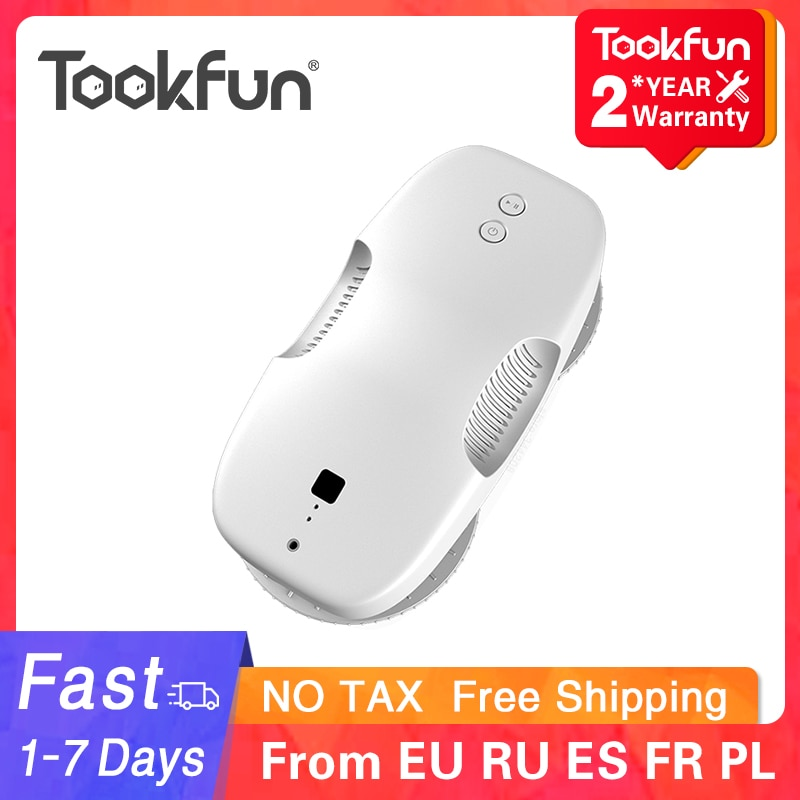 aliexpress.com - TOOKFUN DDC55 Electric Window Cleaner Robot home Auto Window Cleaning Washer Vacuum Cleaner Fast Safe Smart Planned