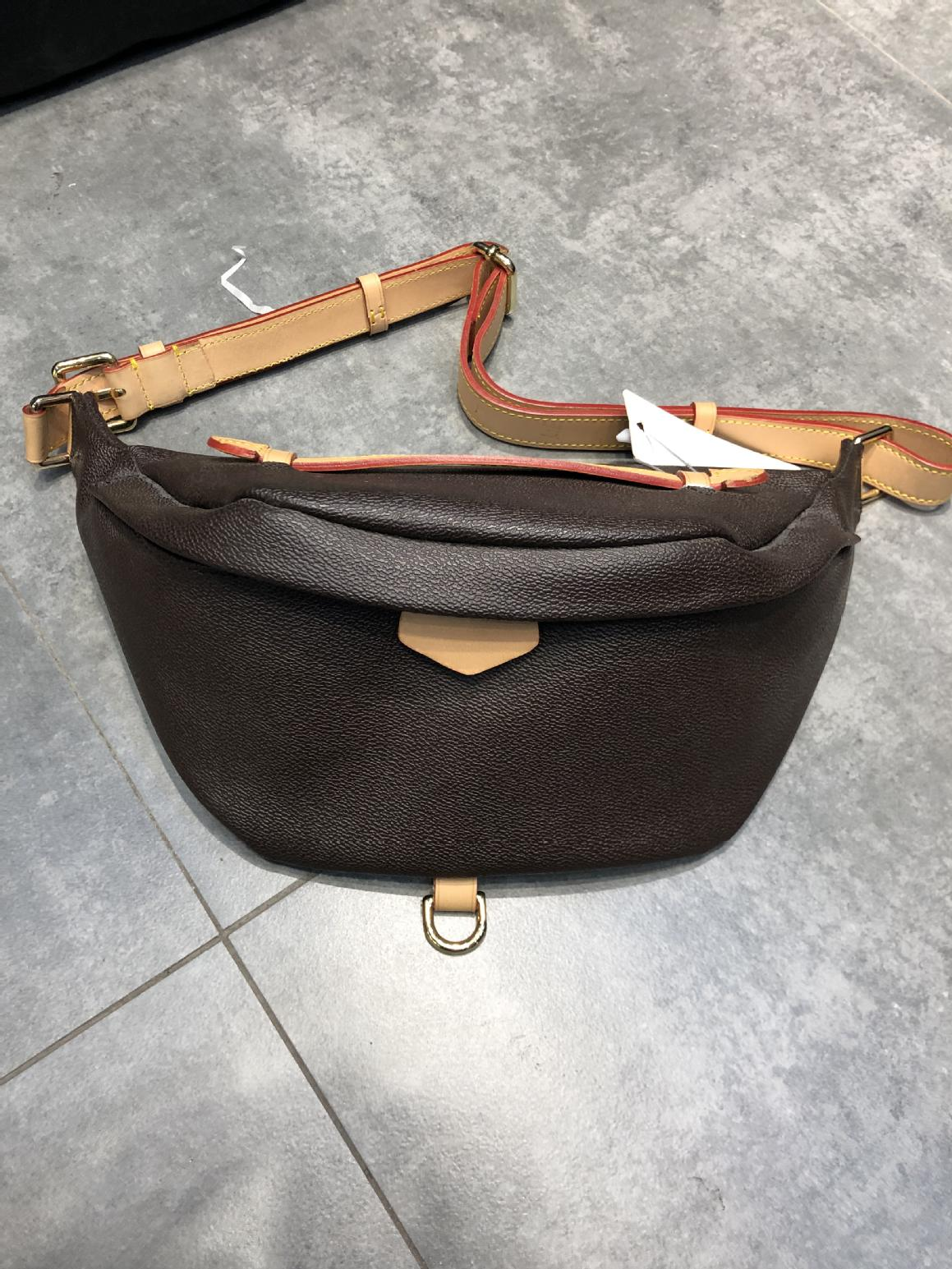 الرجال الجلود الفاخرة الخصر حقيبة حقيبة صدر للرجال اللون تغيير الجلود جودة الأصلي للجنسين مع هدية صندوق حقيبة ساعي