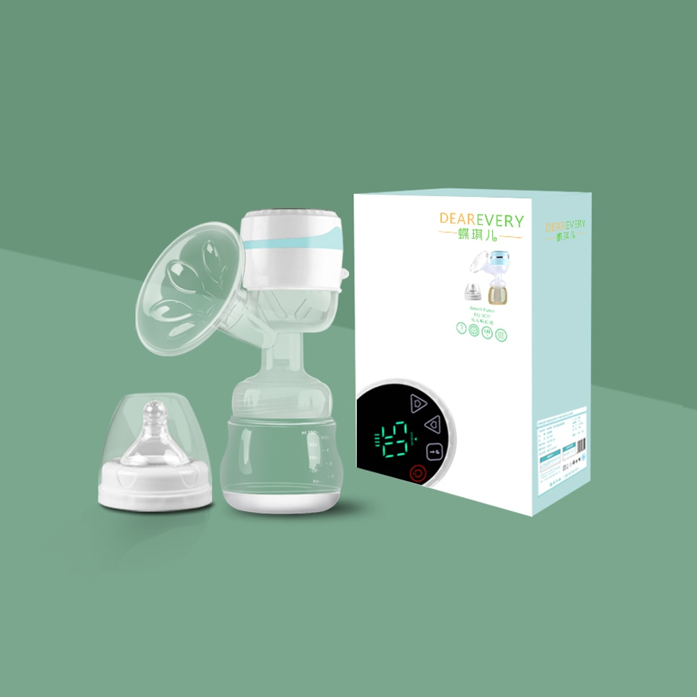 DEAREVERY Electric Breast Pump Set Milk Electric Wireless Large Suction Pull One-piece Chargeable Milk Maker Bebes Accesorios enlarge
