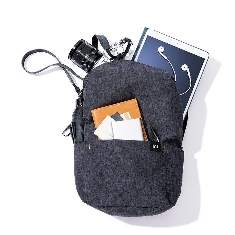 Beg galas kasual Xiaomi Mi 10l asli beg sukan rekreasi Mi unisex - Beg galas - Foto 3