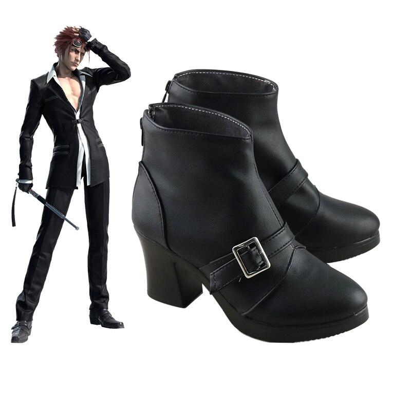 أزياء كوسبلاي الأنيمي للجنسين ، أحذية مصنوعة حسب الطلب ، فاينل فانتسي السابع ، FF7 ، FF VII ، رينو