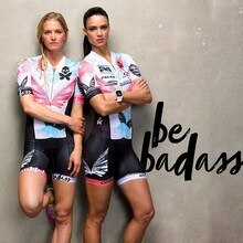 Betty 2020 cyclisme Triathlon combinaison femme maillot de bain manches courtes vtt vélo maillot vélo vêtements Ropa Ciclismo combinaison