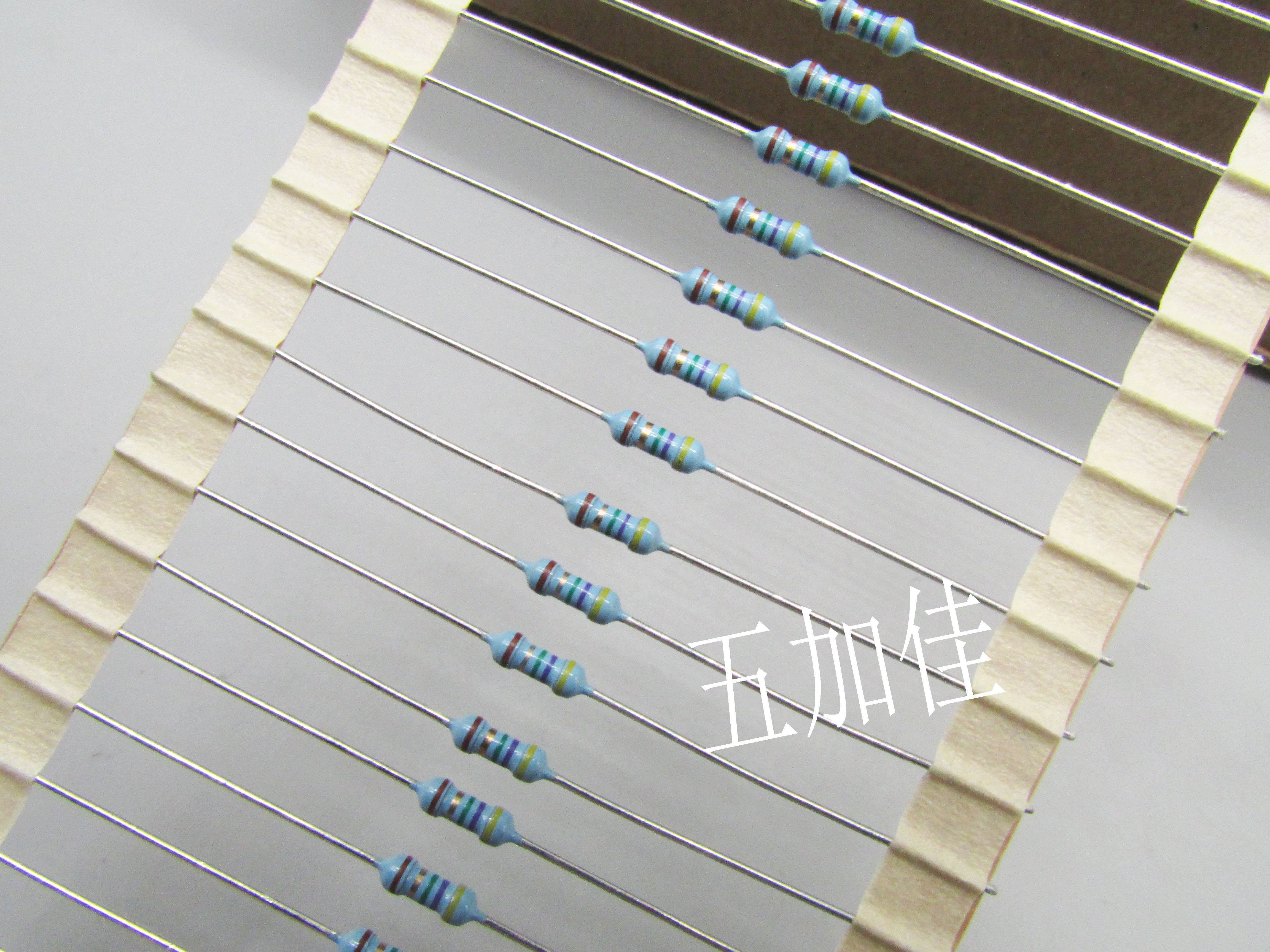 Original neue 100% RNF14FTD47R5 0,25 W RNF1/4W 47,5 R 1% metall film widerstand 2*6MM (Inductor)