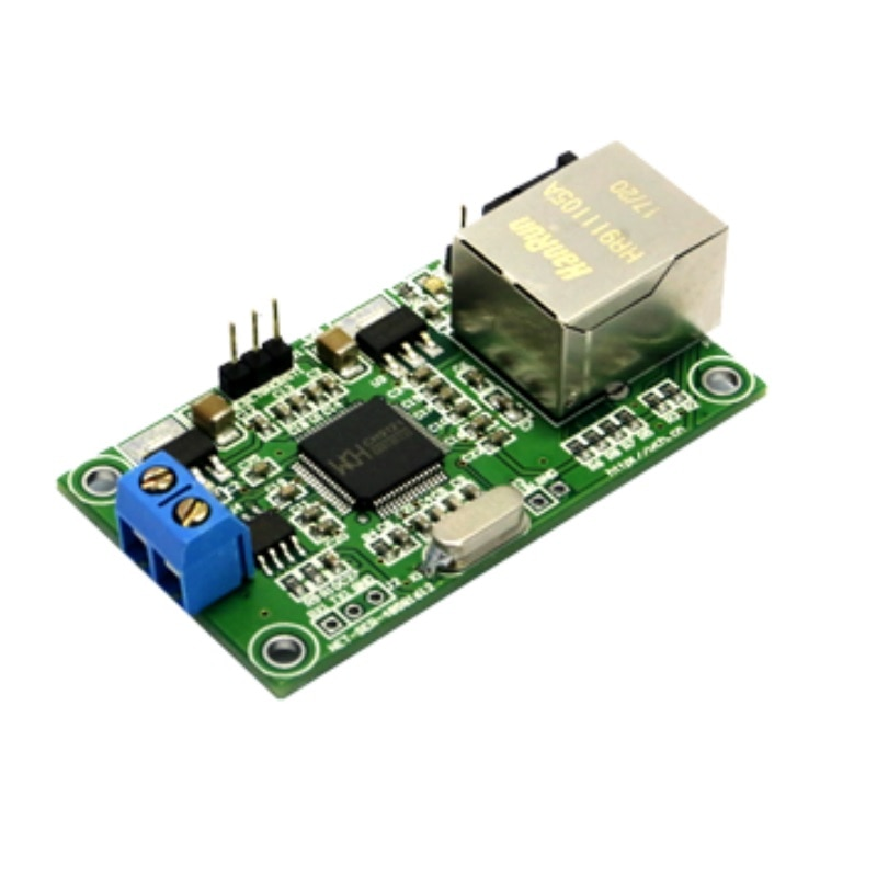 Módulo de puerto serie 485 a 100 RS485 puerto serie M Ethernet CH9121 Módulo de transmisión transparente
