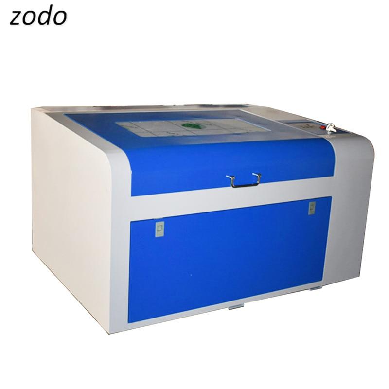 Mini máquina de grabado láser de 50W, máquina de grabado y corte CO2, 220V/110V