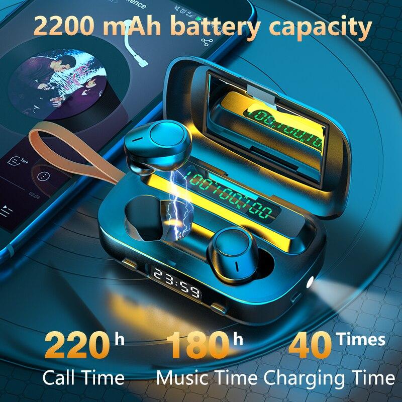 2020 TWS chauds M13 sans fil écouteur Bluetooth écouteur Sport écouteurs suppression du bruit IPX7 étanche sans fil ensemble de tête avec micro
