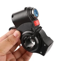 electric bicycle handlebar throttle accelerator grip throttle electric bike scooter thumb throttle key lock switch bycycle acce