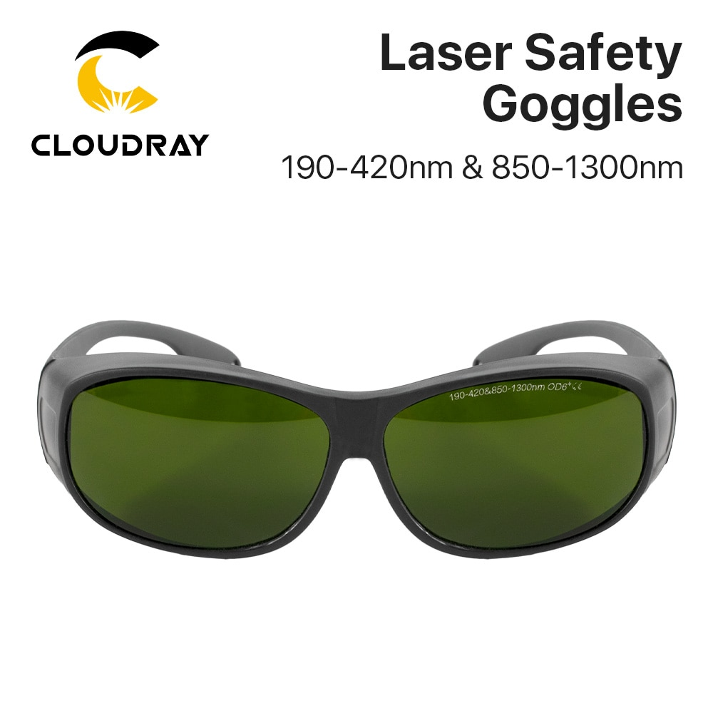 Cloudray 1064nm Style C OD6+ Laser Safety Goggles Protective Glasses Shield Protection Eyewear For YAG DPSS Fiber Laser laser protection goggles safety glasses f 980nm 1064nm ir infrared yag lazer