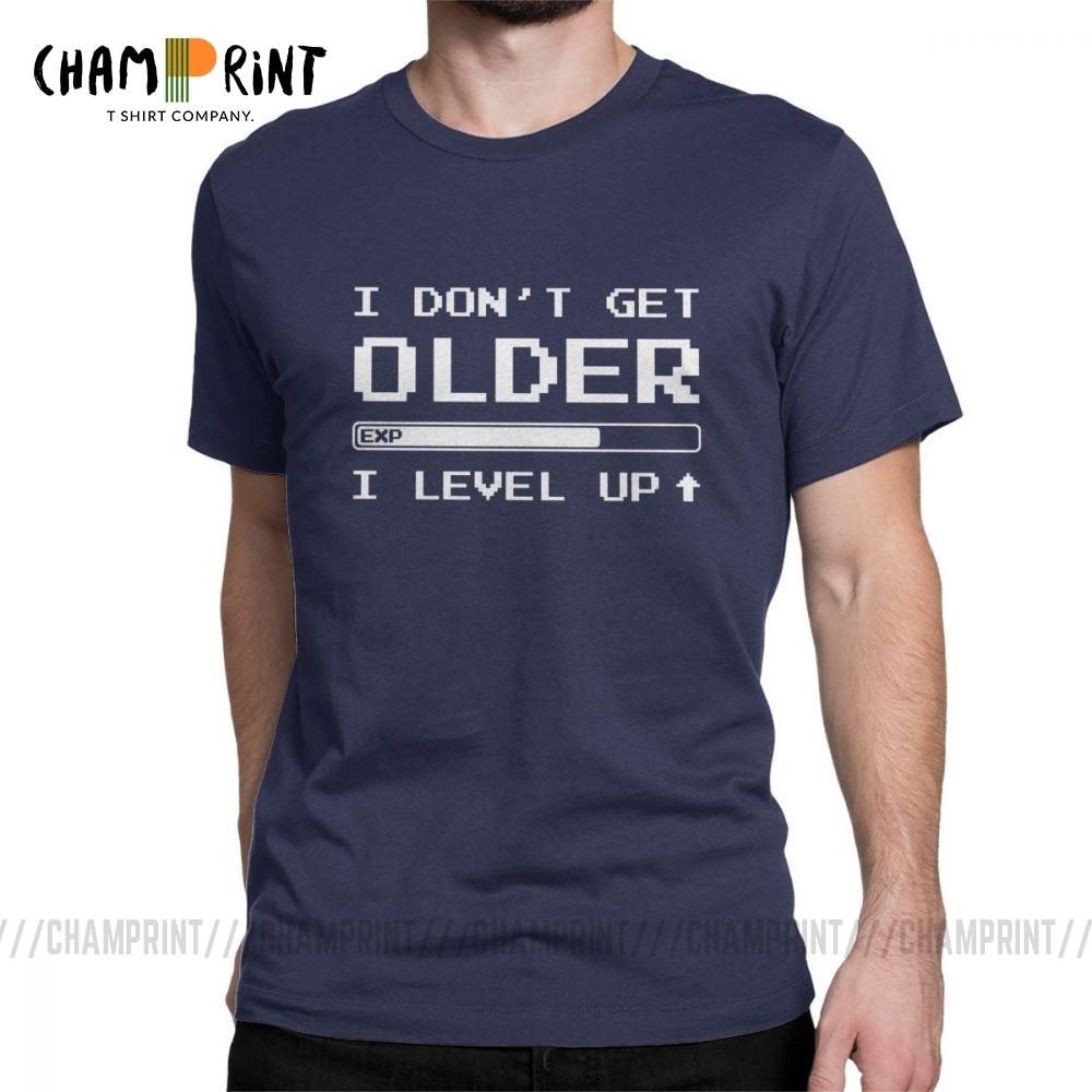 Männer ICH nicht Erhalten Älteren T-Shirt Opa Bruder Papa Onkel Geburtstag Geschenk Tops Kurzarm Kleidung Baumwolle Tees Grafik T Shirt