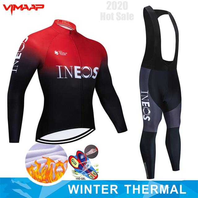 2020 INEOS polar traje de ciclismo Pro equipo Jersey traje de hombre...