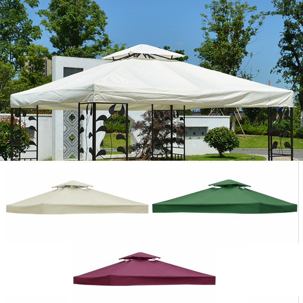 3 * 3m المنبثقة مظلة مقاوم للماء الأشعة فوق البنفسجية حماية خيمة للتظلل من الشمس لشاطئ سميكة دائم وقابلة لإعادة الاستخدام