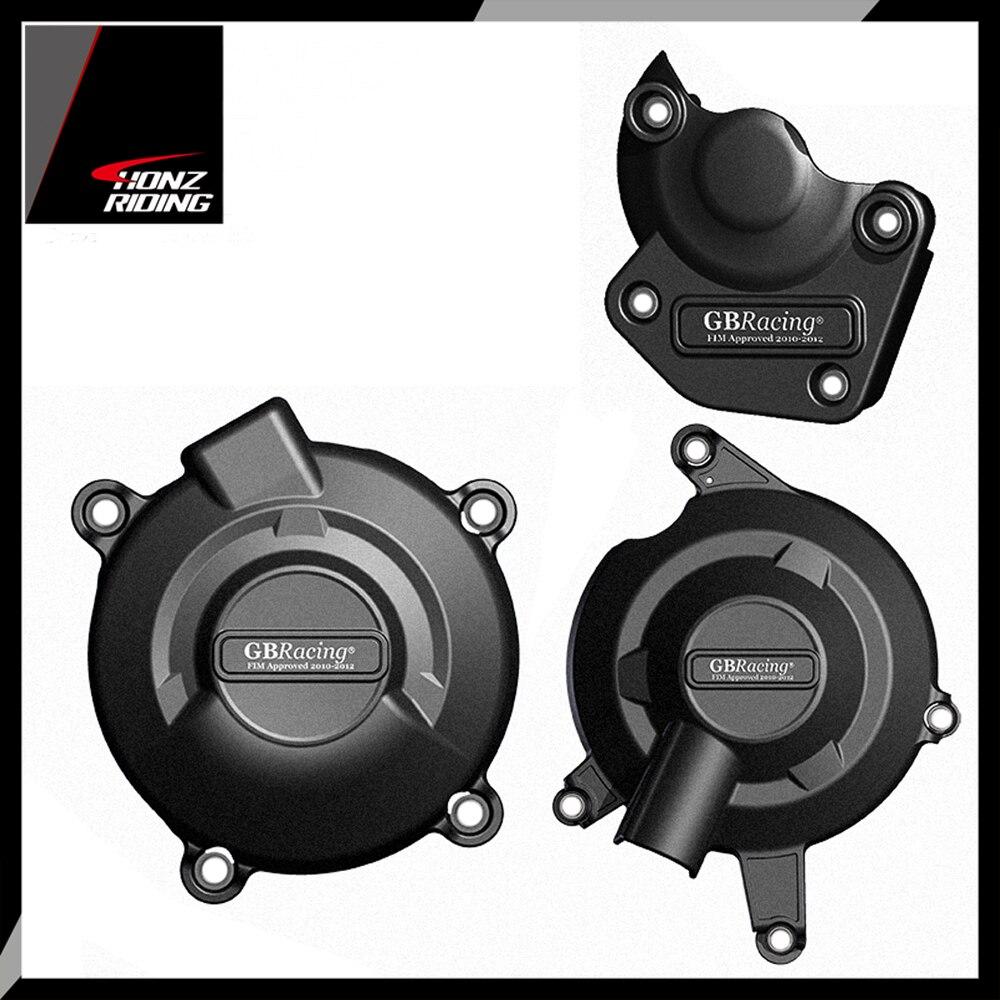 Cubierta protectora para motor de motocicleta, para GB de carrera, para Triumph Daytona 675R 2011-2012