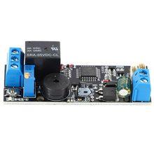 K202 carte de contrôle dempreintes digitales, alimentation 12V à faible consommation dénergie, sortie relais, temps de fermeture réglable