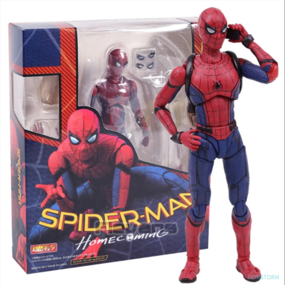 15CM Spider Man Marvel Avengers Homecoming The Spiderman PVC Action Figure Collectible Model Toy