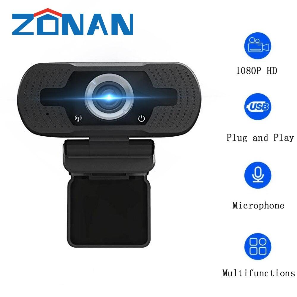 Full HD 1080P Веб-камера USB Камера Встроенный микрофон прямая трансляция видео вызов конференции обучающее видео вращающийся веб-камеры