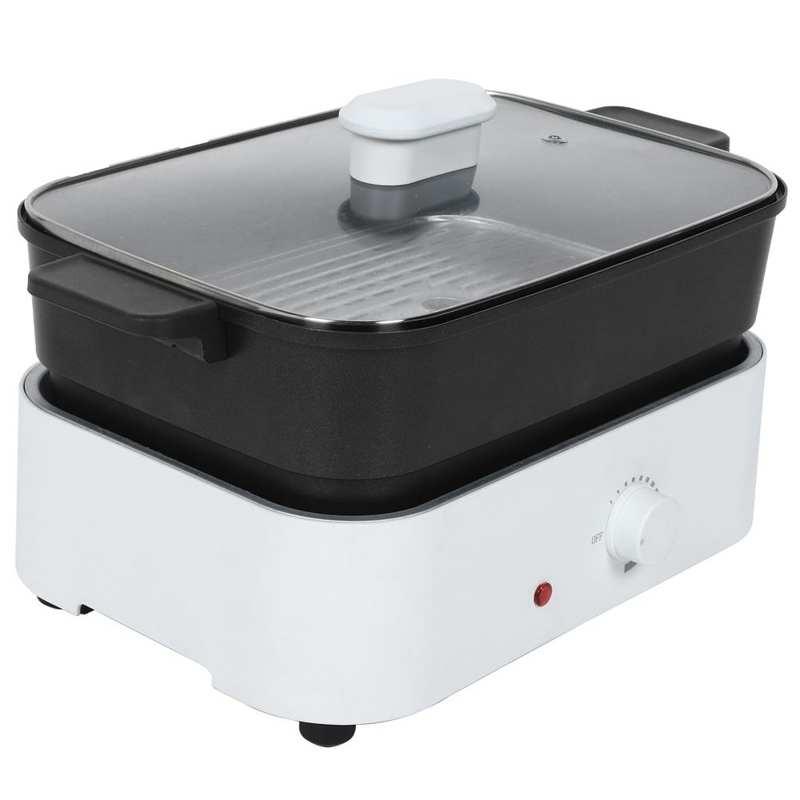 5L 1500 واط متعددة الوظائف مقلاة كهربائية مقلاة كهربائية وعاء الطبخ مع عموم القابلة للإزالة crepera electrica
