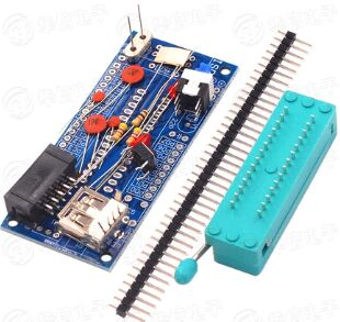 10 комплектов ATMEGA8 ATMEGA48 ATMEGA88 макетная плата AVR (без чипа) DIY Kit