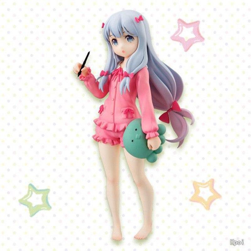 18CM japonés sexy anime figura eromanga-sensei Izumi Sagiri figura de acción juguetes de modelos coleccionables