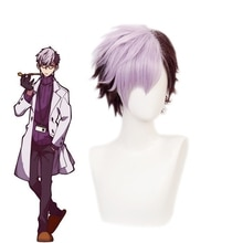 Anime Jibaku Shounen Wc-gebunden Hanako kun Tsuchigomori Kurze Perücke Cosplay Kostüm Wärme Beständig Synthetische Haar Männer Perücken