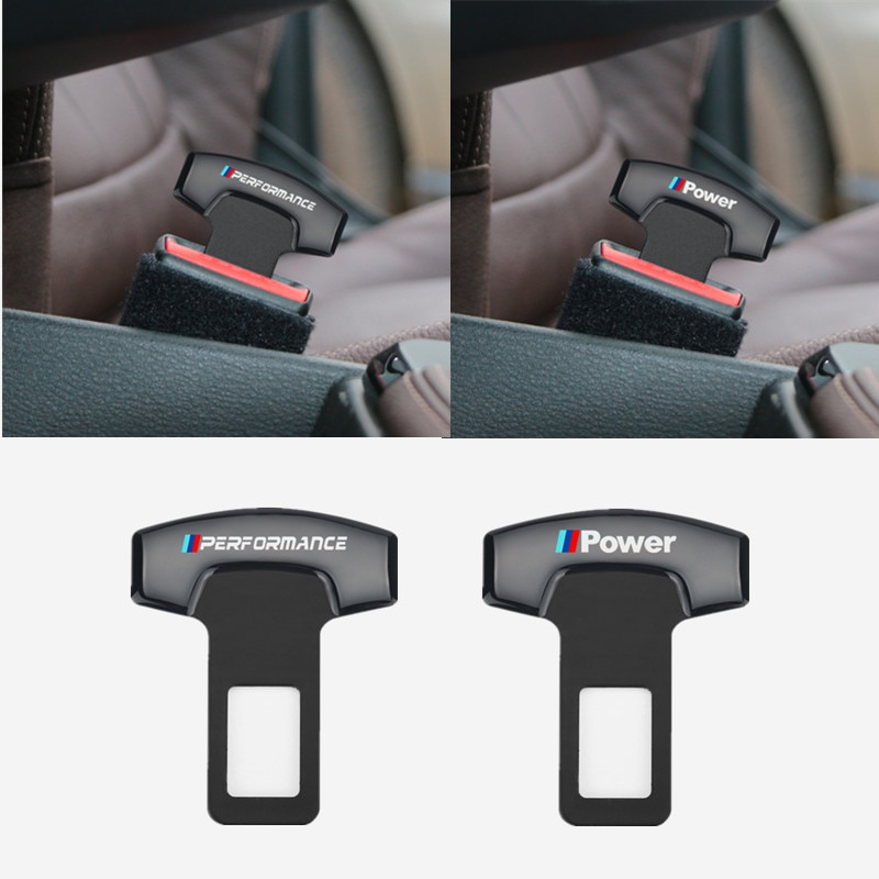 for BMW X1 X3 X5 X6 E46 e39 E90 E36 E60 E34 E30 Car Belt Buckles Car Seat Safty Belt Alarm Canceler Stopper 1pcs