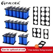 Литий железо фосфатный аккумулятор PALO, 32700, 7200 мАч, 3,2 В, 35 А, непрерывный разряд, максимум 55 А, аккумулятор высокой мощности + никелевые пластины, новинка 32700