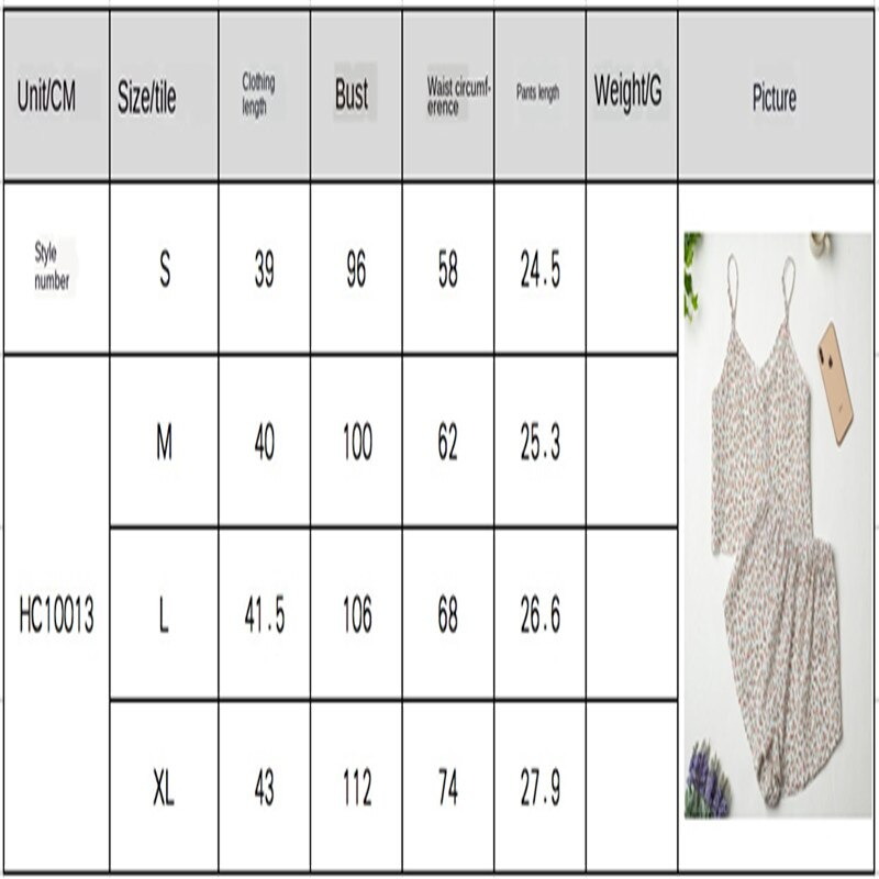 Imitation Silk Suit Ice Silk Printed Pajamas Summer V-Neck Suspender Shorts Breathe Freely Pleasantly Cool Pajamas For Women