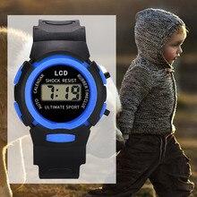 Children Watches Girls Analog Digital Sport Watch Led Electronic Waterproof Wrist Watch New Reloj Ho