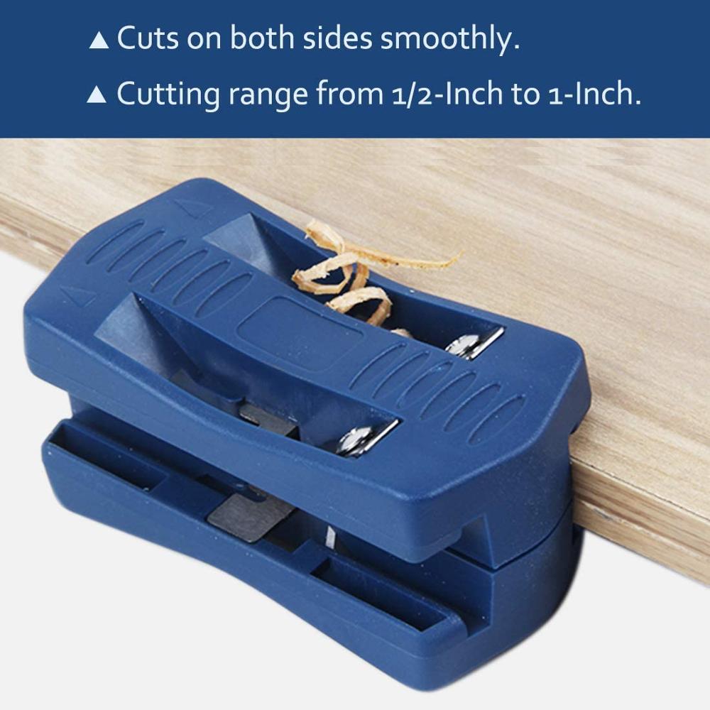 Купить с кэшбэком Handle Edge Trimmer Edgebanding Edge Banding Machine for Wood Furniture Cabinet Manual Tail Trimming Woodworking Tool Plastic