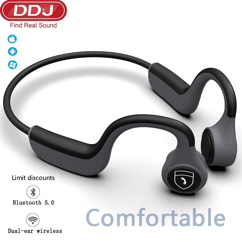Bluetooth Headphones For Xiaomi Bone Conduction Bluetooth 5.0 Chip Headset Waterproof Sweatproof 6-8 Hours Battery Life