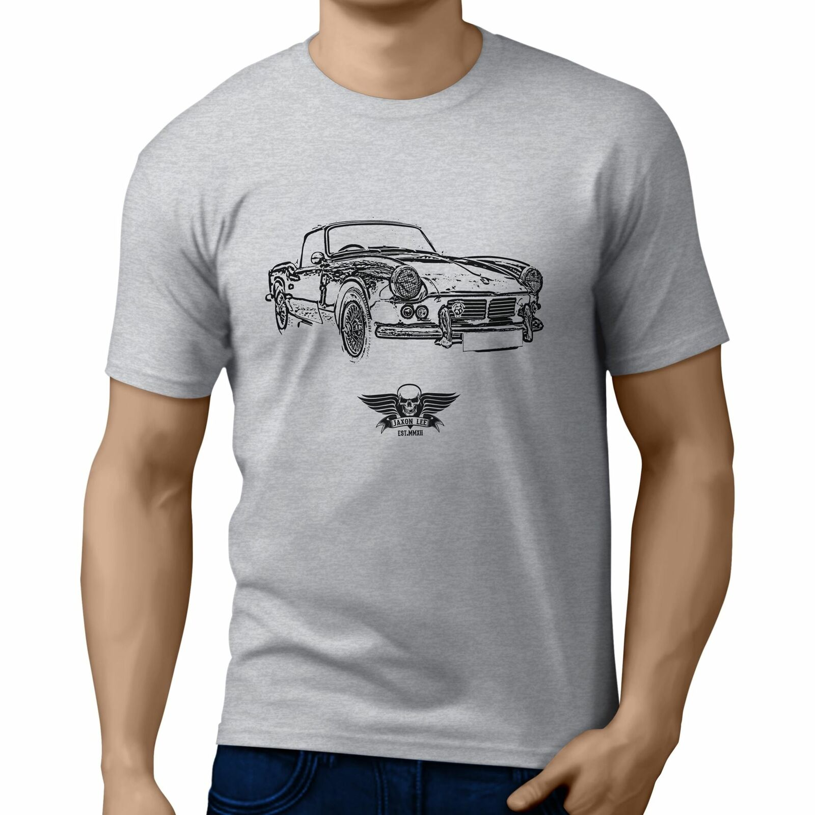 Camiseta básica de Jl Triumph Spitfire Mk2 1965