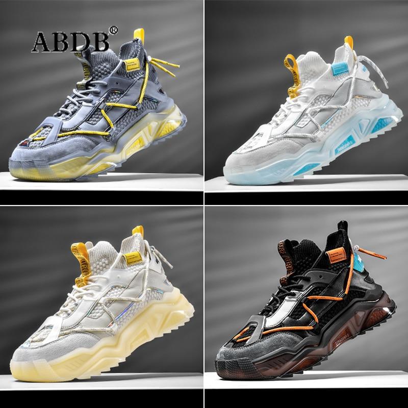 أحذية رياضية رجالية خفيفة الوزن موضة 2021 أحذية رياضية رائجة قابلة للتنفس أحذية رياضية متطرفة مانعة للانزلاق أحذية باركور أحذية هيب هوب