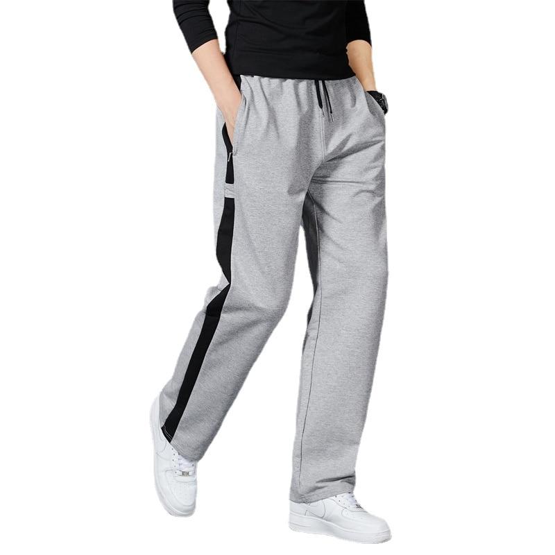 Мужские свободные спортивные штаны для бега полосатые тренировочные штаны для фитнеса мужские прямые брюки спортивный костюм штаны для бе...